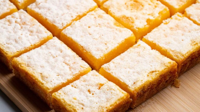 Perfect Lemon Bars | Easy Lemon Tart Recipe By Spice Bangla 1