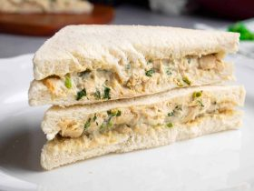 Cream Cheese Chicken Sandwich